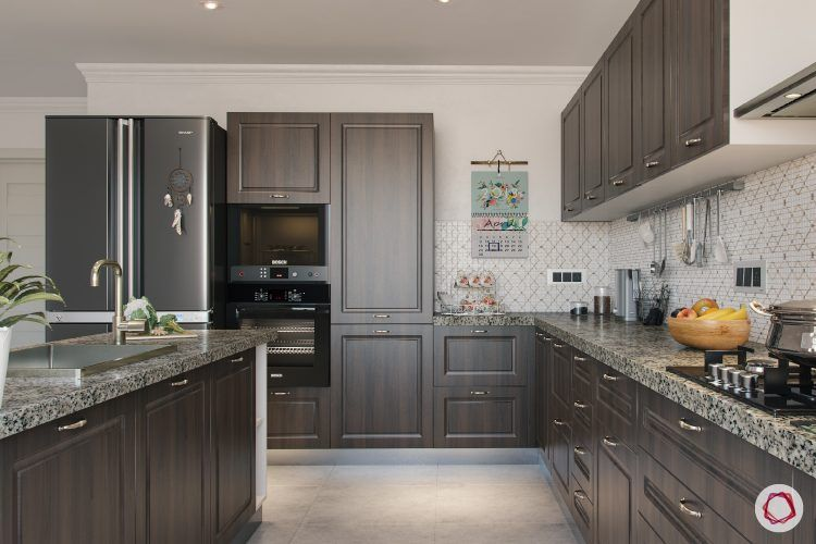 finish for kitchen cabinets-grey-laminate-countrystyle-kitchen-cabinets