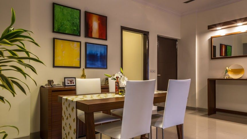 gurgaon apartment dining area