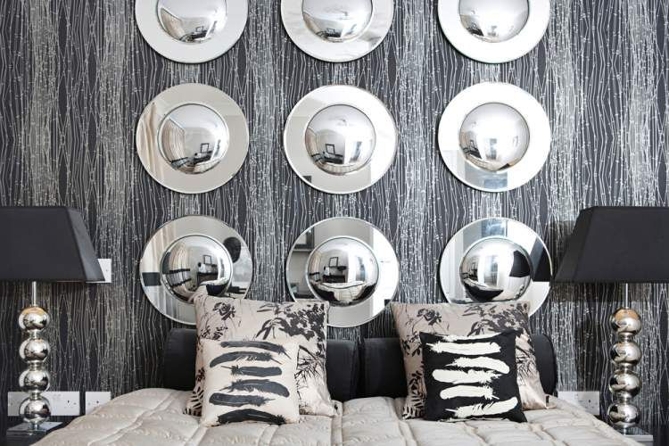 how to decorate with metallic accents