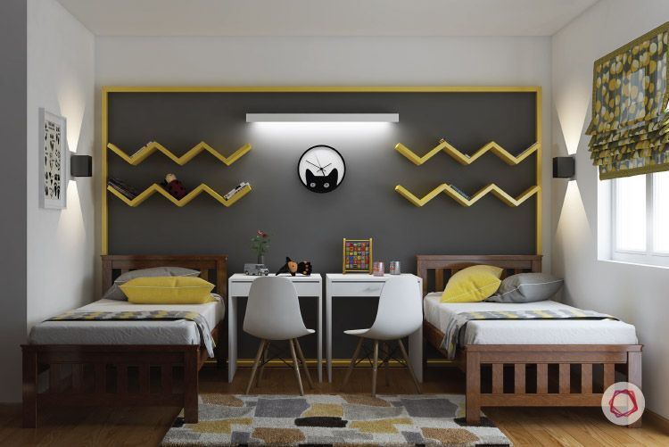 Shared Kids' Bedroom - Common Areas Accessible
