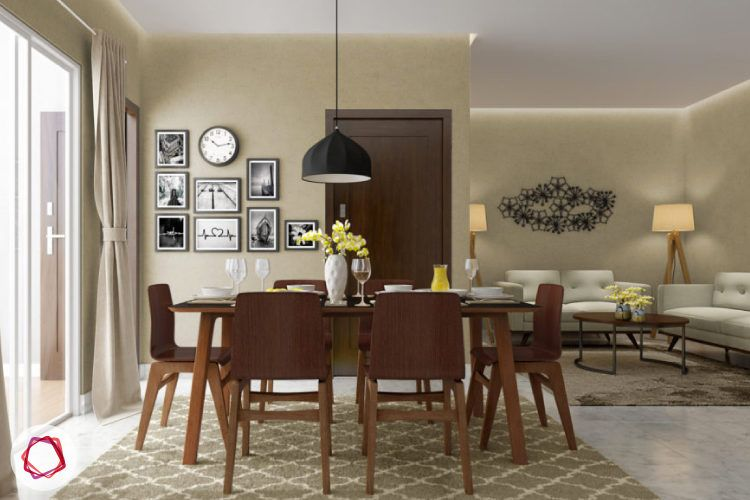 When choosing dining chairs consider how it would fit your lifestyle.