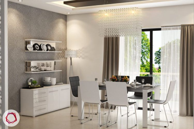 Purchase dining chairs that can be easily moved around the house.