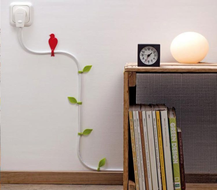 Easy and Simple Ideas for Concealing Wires