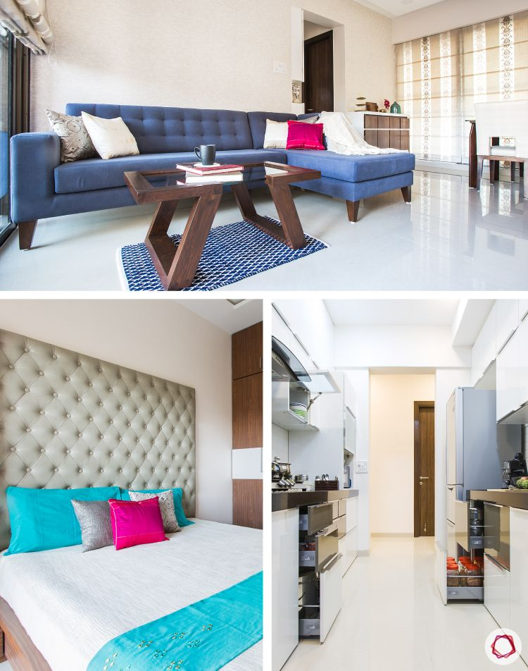 An all-white Livspace home in Mulund that is everything that a new-age suburban family should have.