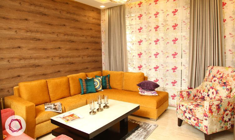 A wood finish accent wall idea is a great way to introduce warmth in any room.