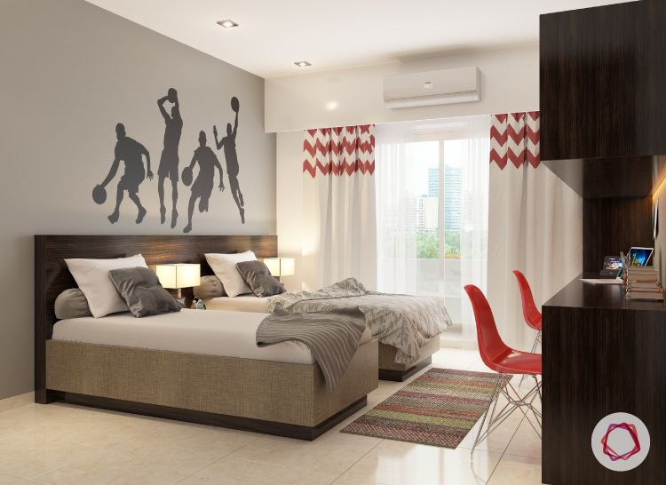 accent wall ideas for kids' rooms