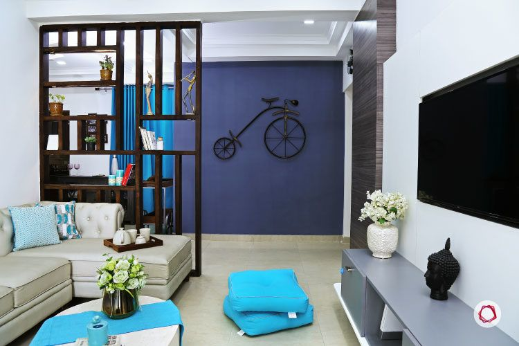 It S Raining Blues In This Noida Home