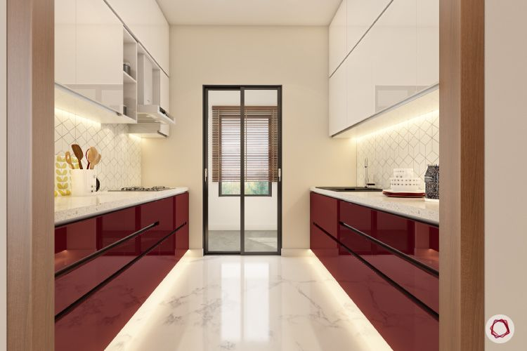 marble-floor-kitchen-white-red-cabinets-profile-light