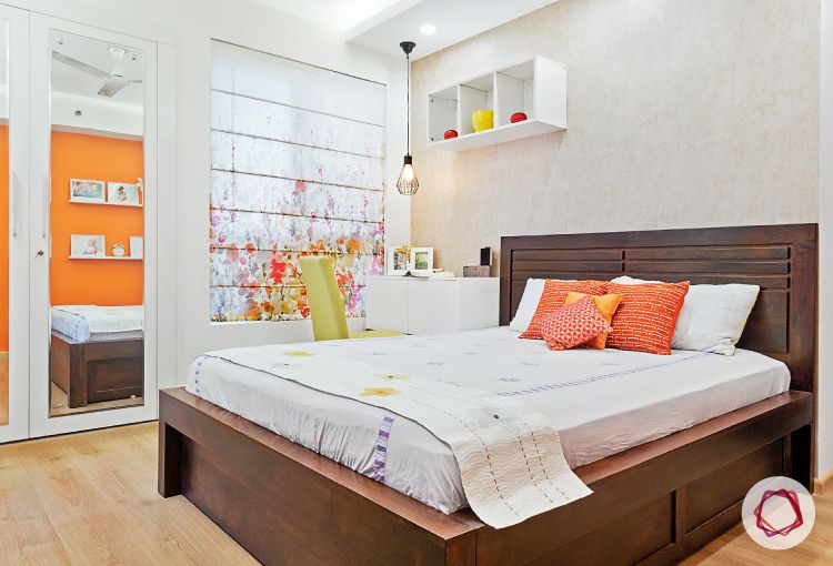 Noida interior design_master bedroom