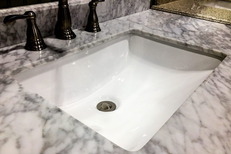 Vanity countertop options