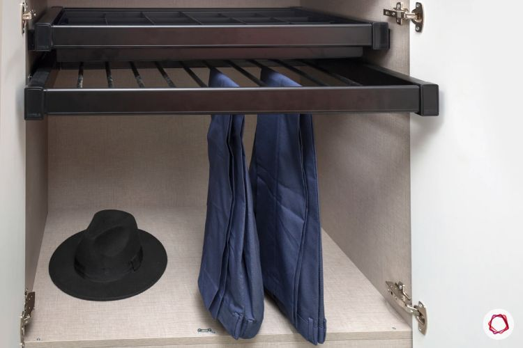 wardrobe interiors-racks