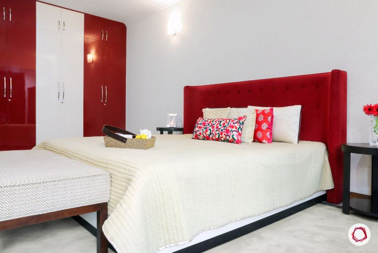 Stunning Red Decor Ideas Used In Livspacehomes