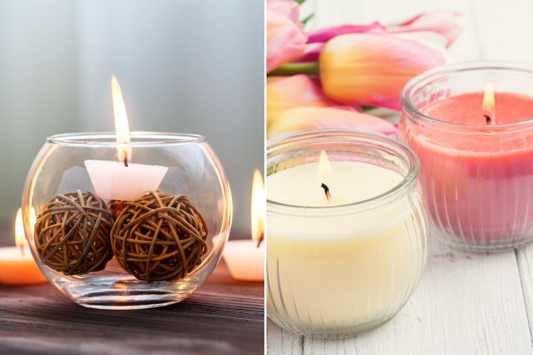 Small budget big makeover-scented candles
