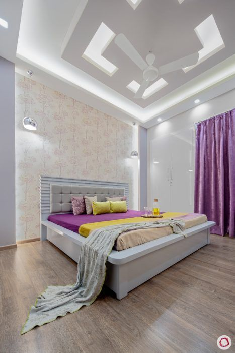 bright-and-beautiful-pearly-white-bedroom-ceiling