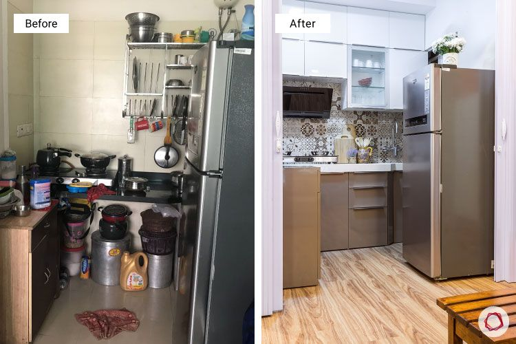Studio apartments_before after kitchen