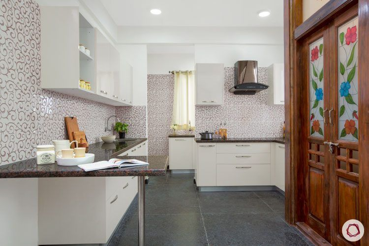 villas-in-bangalore-white-kitchen-complete