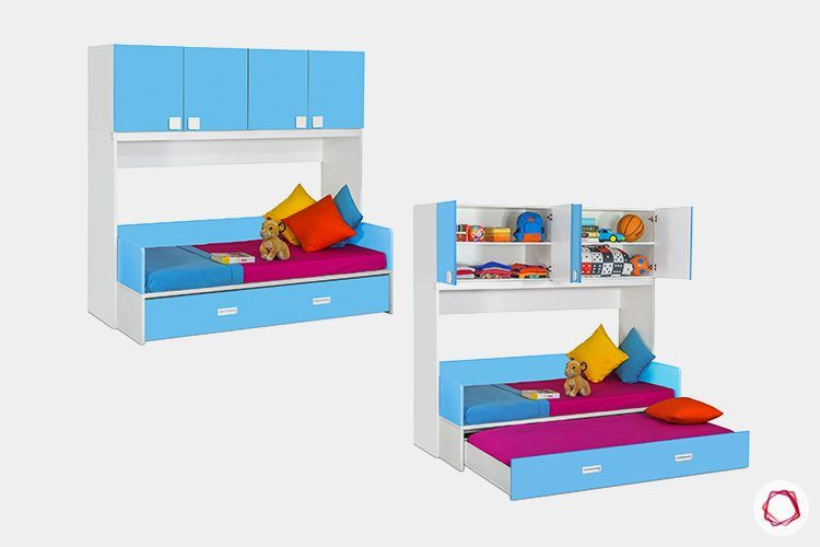 kids-furniture-trundle-bed