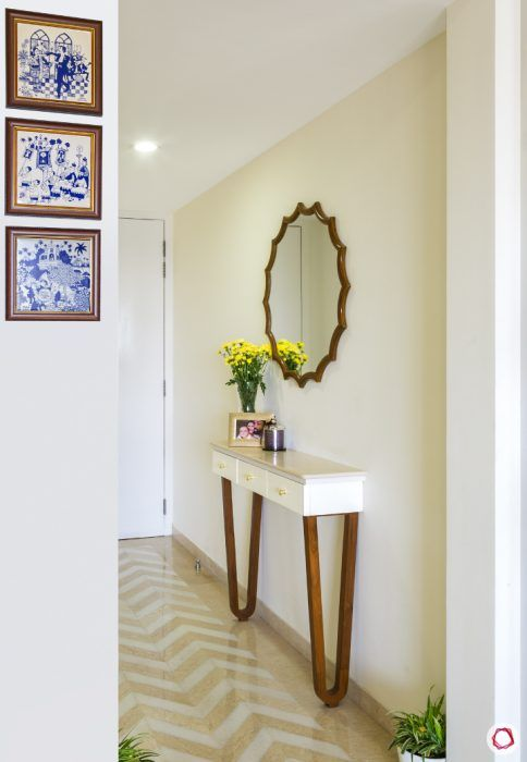 console-table-slim-white