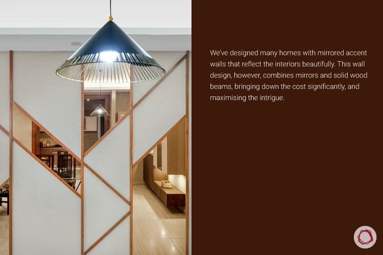 3BHK-flat-wall-panel-mirror