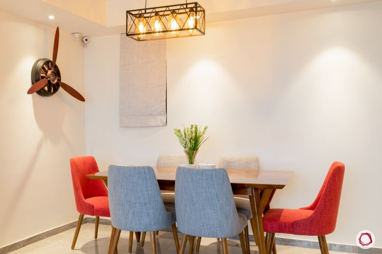 Indian home design_dining room full view