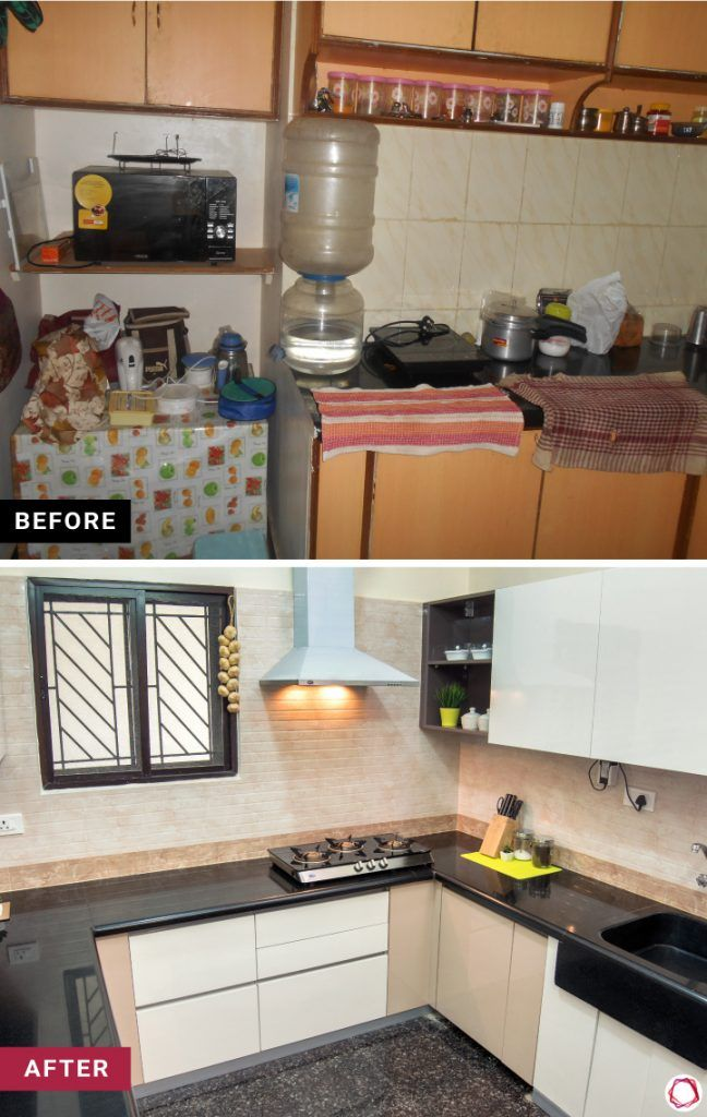 home makeover simple kitchen