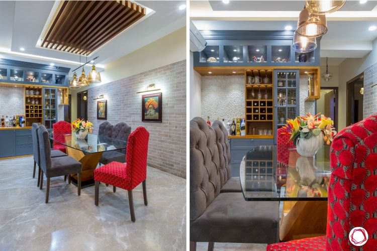 3 bhk flats in noida dining table