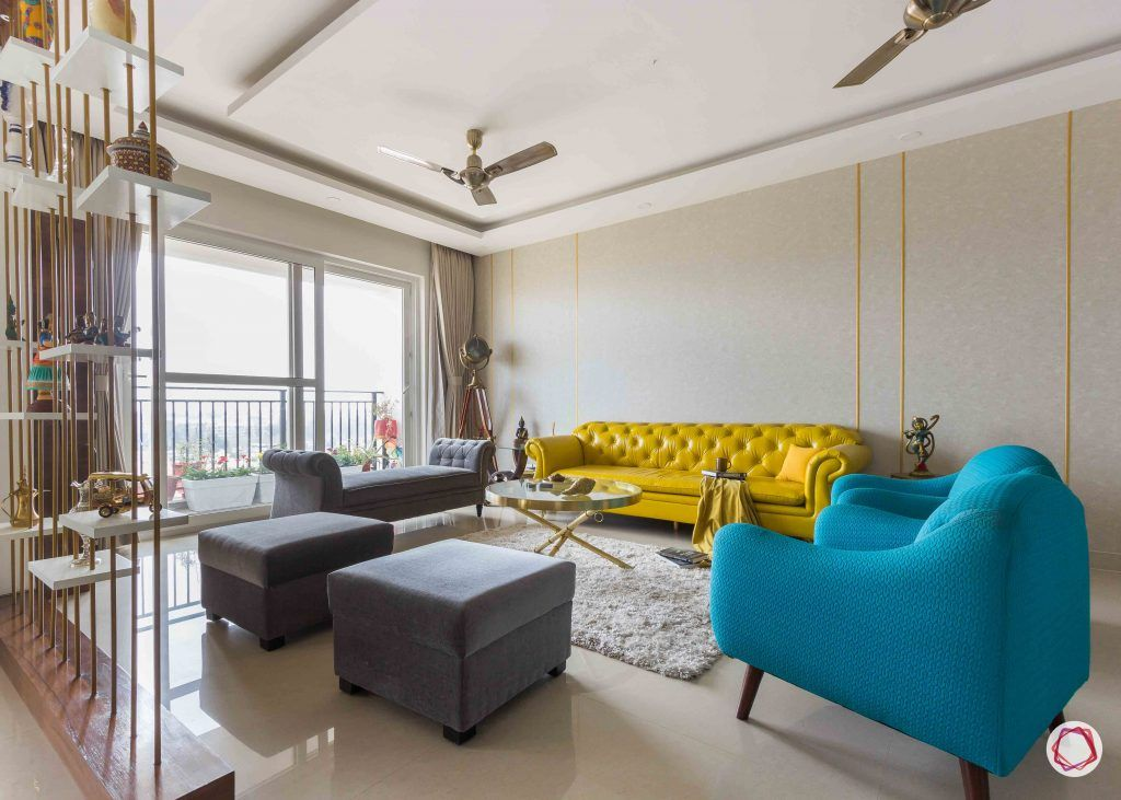 Home interior design photo gallery_Hints of gold Rajat Malhotra