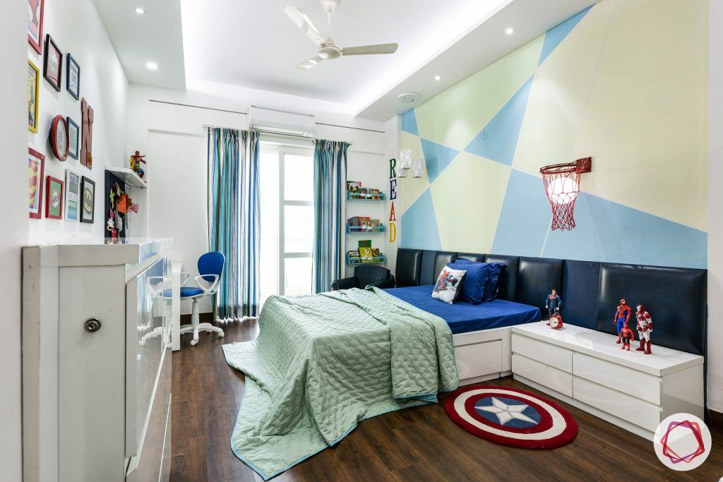 duplex house design kids bedroom
