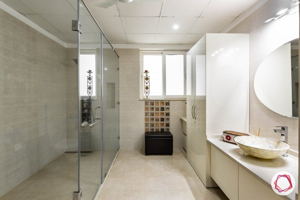 duplex house design bathroom wardrobe