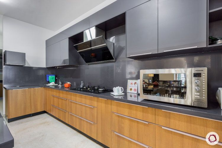 latest home design_grey kitchen