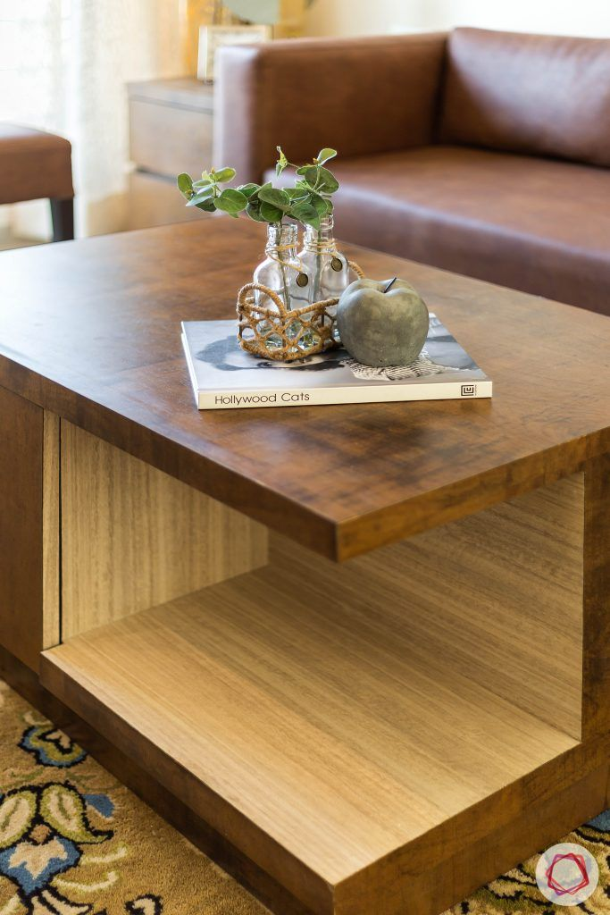 2BHK interior_centre table
