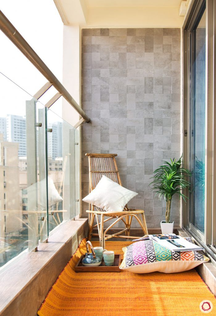 small space interior design-rugs for balcony-floor seating for balcony-cane furniture for balcony