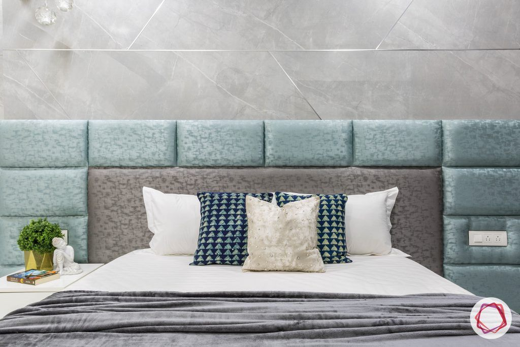 house-renovation-master-bedroom-headboard-grey-blue-stonewall-side-table