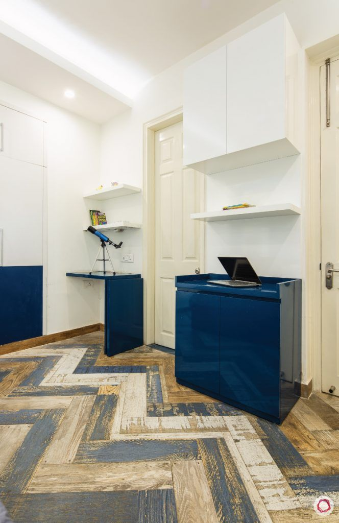 flat-in-faridabad-kids-bedroom-study-table-storage-cabinet-colourful-tiles