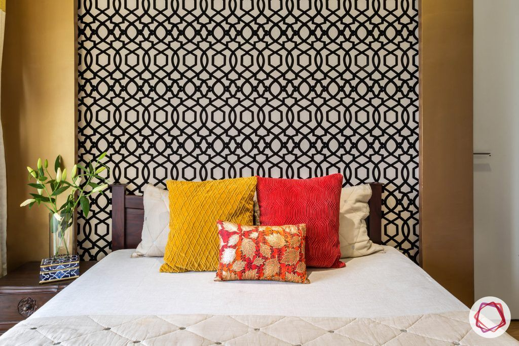 lodha group-bohemian wall panel-colours for bedroom-headboard designs