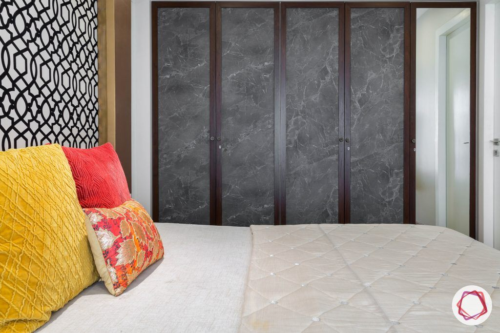 lodha group-bohemian wall panel-colours for bedroom-antique wardrobe