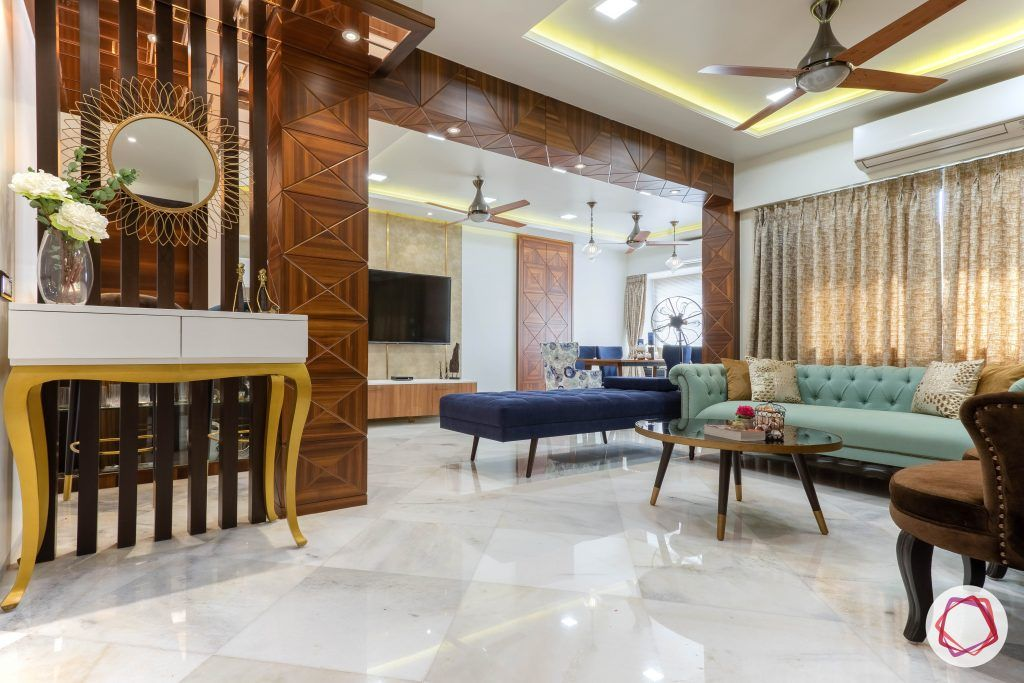 residential-interior-designers-in-mumbai-foyer-console-table-sofa-daybed-table
