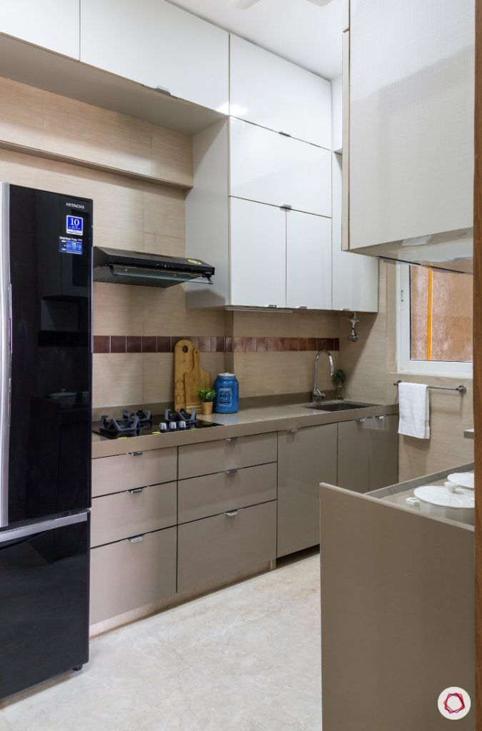 best interior designers in mumbai-kitchen-full compact kitchen-white cabinets-lofts