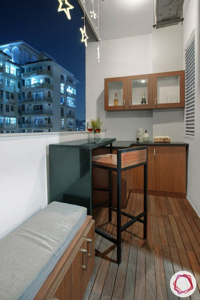 balcony seating ideas-mini bar designs-bar unit designs-bar unit for balcony