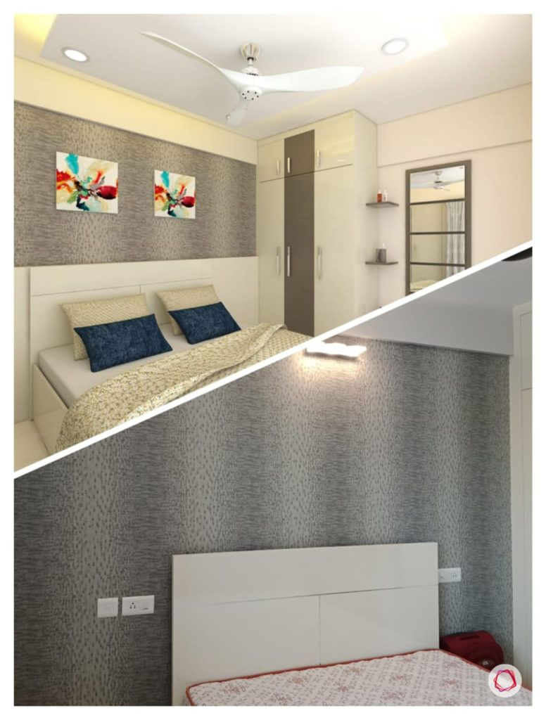 home bangalore-master bedroom-3d design-3d living room-vray