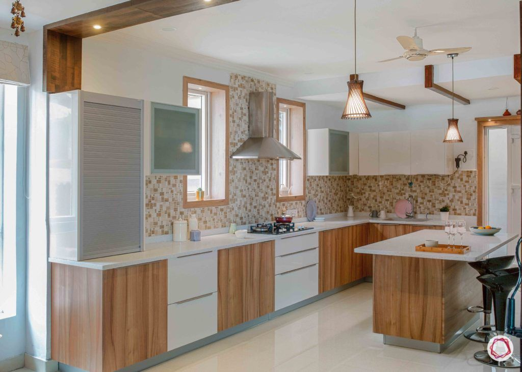 colour schemes for your kitchen-wooden kitchen designs-island kitchen designs