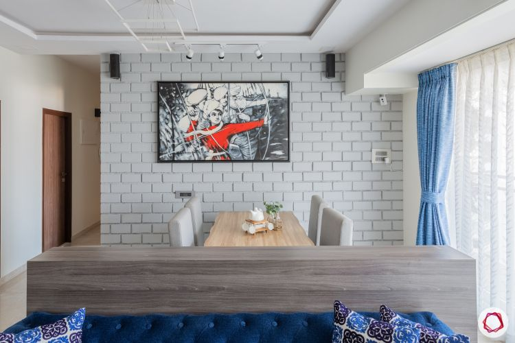 home mumbai-white brick wall designs-low height partition designs