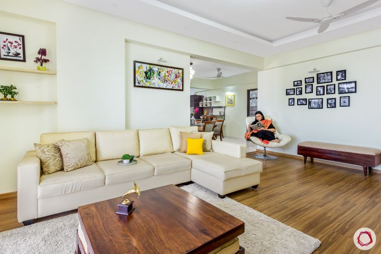 top-interior-designers-in-bangalore-living-room-sofa-bench-chair-photo-wall