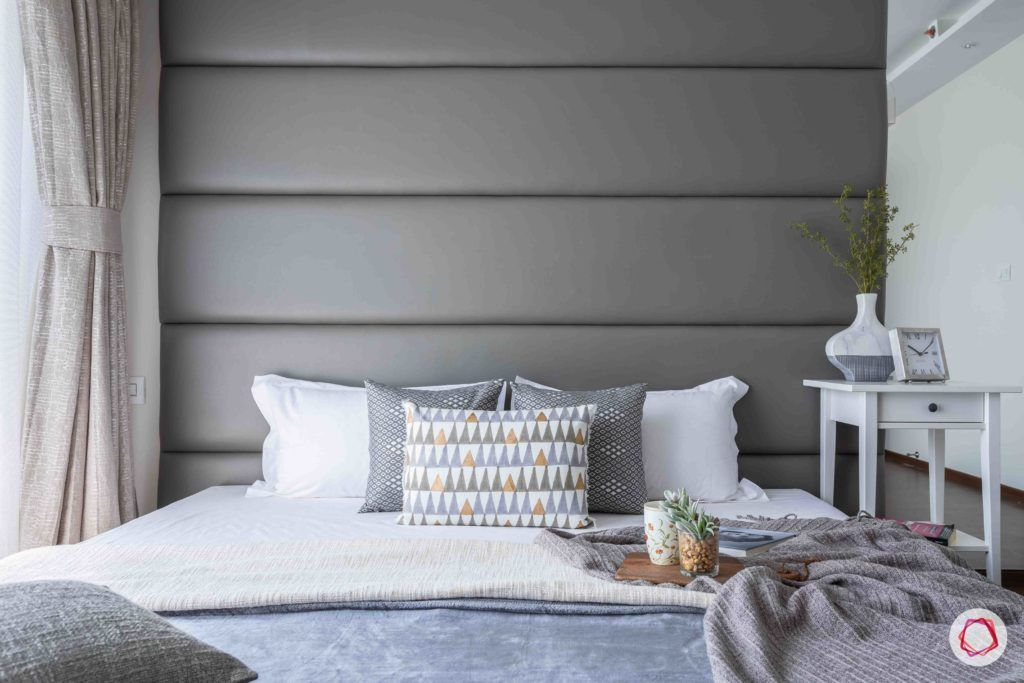wall design-upholstery designs for wall-grey headboard designs