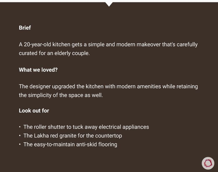 Simple kitchen designs for Indian homes-details