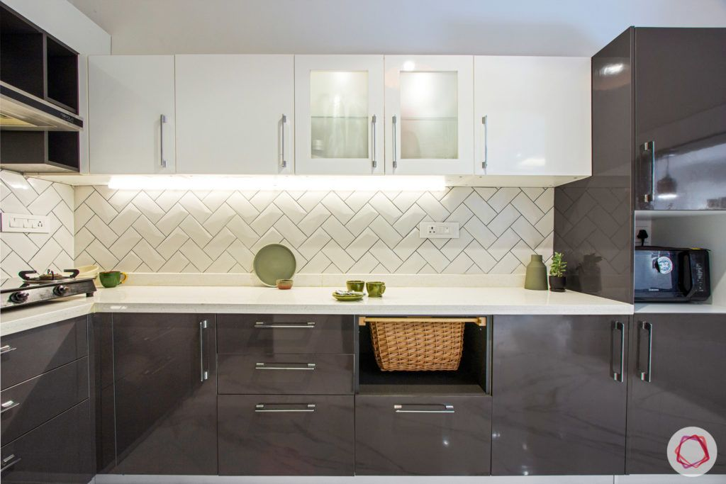 duplex house design-open kitchen designs-white backsplash designs