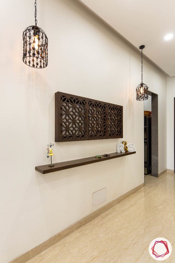 jali-design-power-board-brown-light-fixtures-ledge-false-ceiling