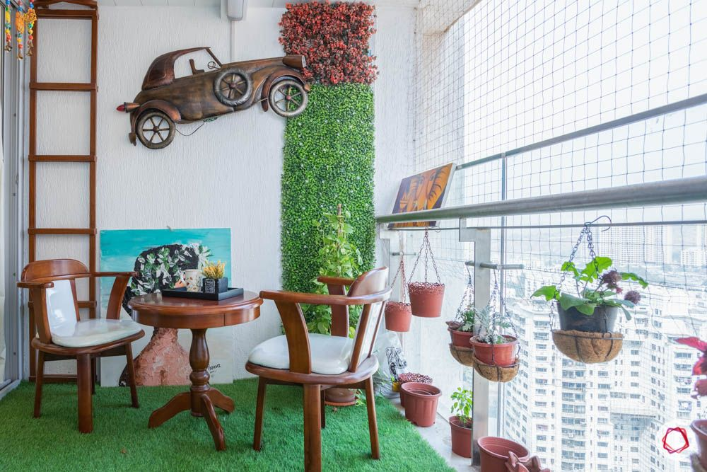 db woods-balcony designs-vertical garden
