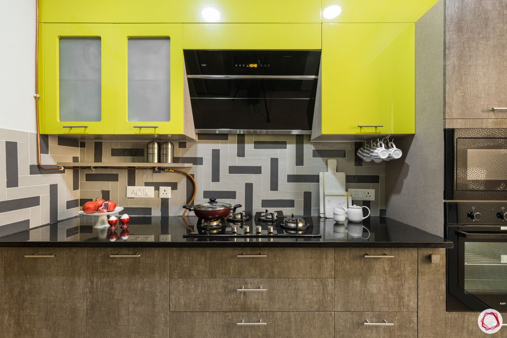 paras irene-yellow cabinets-brown base cabinets