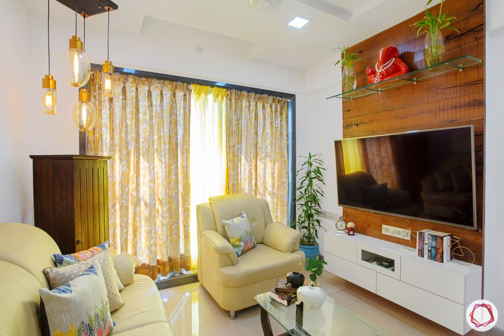 2-bhk-in-mumbai-living room-tv unit-false ceiling